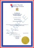 Certificate in English Language Achievement